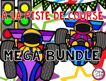 French Race Track Tracing Pages MEGA BUNDLE