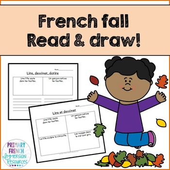 French - Reading Comprehension FALL - La compréhension de