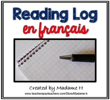 French Reading Log
