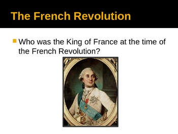 French Revolution - PowerPoint