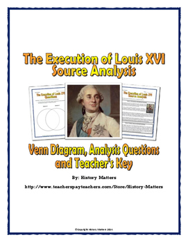 French Revolution - Source Analysis (Execution of Louis XV
