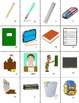 French School-L'École Vocabulary Mini Student Cards and Fu