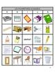 French School Supplies BINGO / LES FOURNITURES SCOLAIRES VOILA