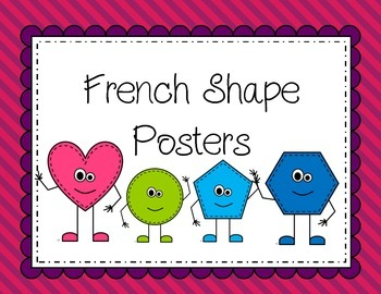 French Shape Posters