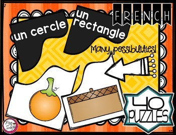 French 2D Shape Puzzles