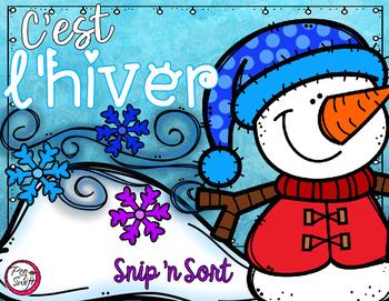 French Snip 'n Sort - C'est l'hiver!