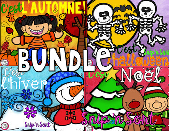 French Snip 'n Sort BUNDLE