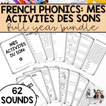 French Sound Activities Bundle / Les activités sur les sons