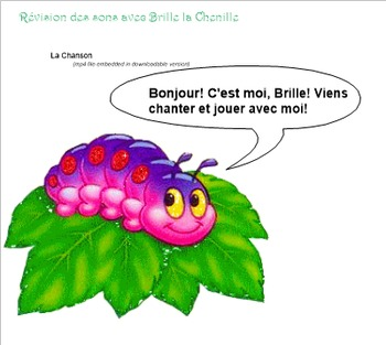 French Sounds Interactive SMART Board file - Learn sounds