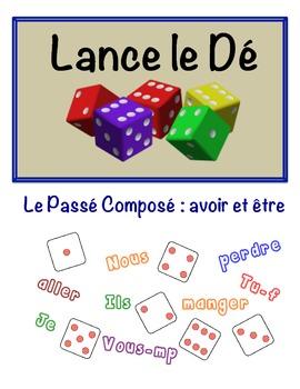 French Passé Composé (Avoir & Être) Speaking Activity (Dic