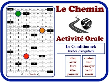 French Conditional (Irregular Verbs) Speaking Activity. Qu