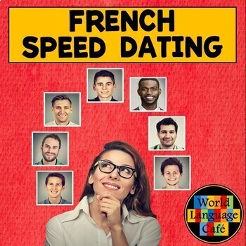 French Valentine's Day Lesson Plan, Speed Dating