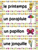 French Spring Activities and Vocabulary Package - LE PRINTEMPS