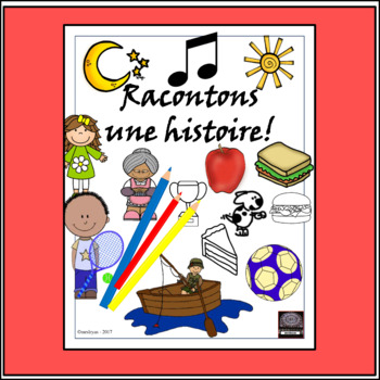 French Storyboard – Racontons une histoire – creative writ