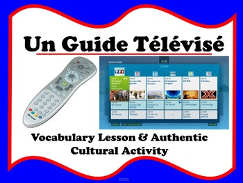 French TV Guide Cultural Activity