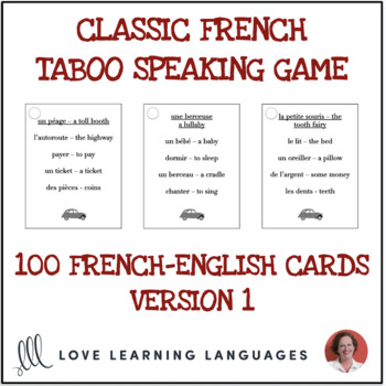 French Taboo Game