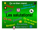 French Teaching Resources. Greetings PowerPoint Presentation.
