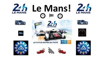 French Teaching Resources. Les 24 Heures du Mans. Le Mans.