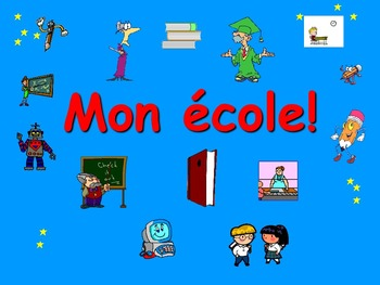 French Teaching Resources School Buildings & Facilities Po
