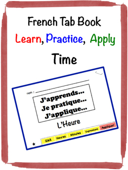 French Time Tab Book