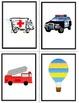 French Transportation-Les Transports Vocabulary Flashcards