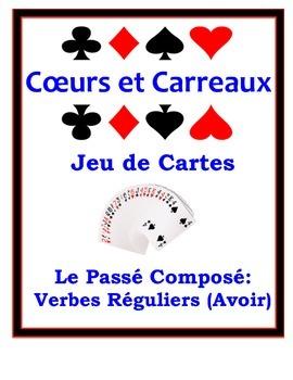 French Passé Composé (Regular Verbs) Speaking Activity: Pl