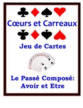 French Passé Composé (Être & Avoir) Speaking Activity: Pla