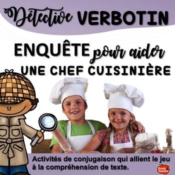 French Verbs// Verbotin: Ingrédients pour la recette secrète
