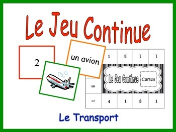 French Transportation Activity for Groups, Inventive Twist