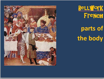 French Vocabulary  BELLWORK Bundle Set 2