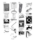 French Vocabulary - Bathroom - Furniture and Household Ite