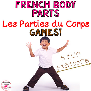 French Vocabulary Games – Les Parties du Corps (Body Parts)