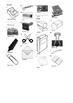 French Vocabulary - Office Supplies and Stationery Crosswo