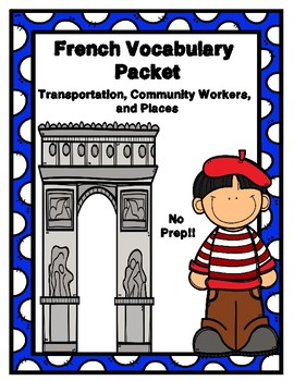 French Vocabulary Packet