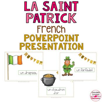 French Vocabulary PowerPoint Presentation – Le Jour de la