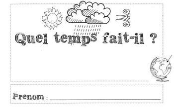French Weather Report - Bulletin de météo
