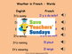 French Weather and Seasons Unit (6 lessons) - All lessons