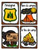 French Word Wall Card Collection - LES GARDES FORESTIERS