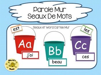 French Word Wall (Parole Mur  Seaux De Mots)