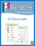 French Word Walls  Basic Vocabulary
