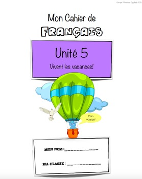 French Workbook for Beginners - Unit 5 of 5 (SALE!)