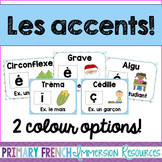 French accent posters - Les affiches des accents