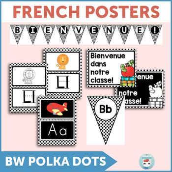 French alphabet posters   alphabet bunting   bienvenue