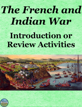 The French and Indian War Activities