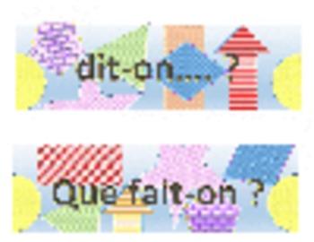 Bulletin board boarders - French Useful words & phrases Se