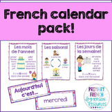 French calendar pack