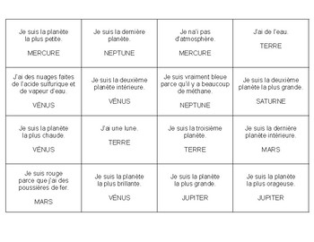 French classroom phrases (9 total)