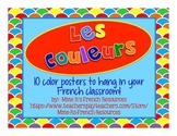 French color word posters