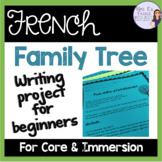 French family tree project using family vocab and possessi