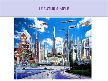 French francais future futur simple lesson activities game